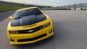 Yellow Chevrolet Camaro Wallpaper