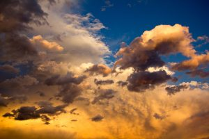 yellow clouds wallpaper background