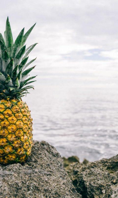 Yellow Pineapple Wallpaper Hd Wallpaper Background