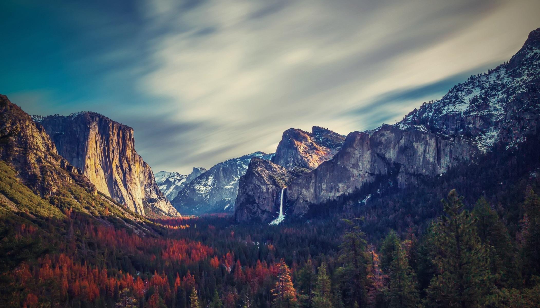 Yosemite Valley Wallpaper Background