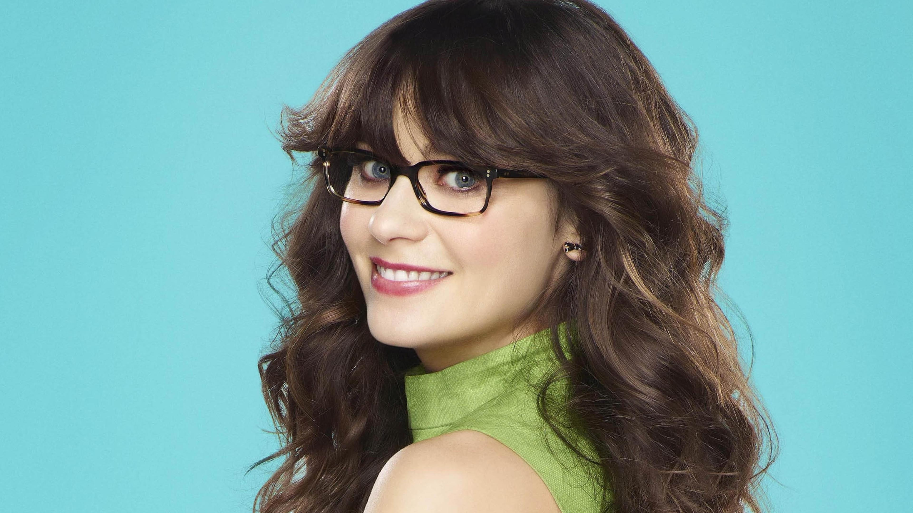 zooey deschanel 4k